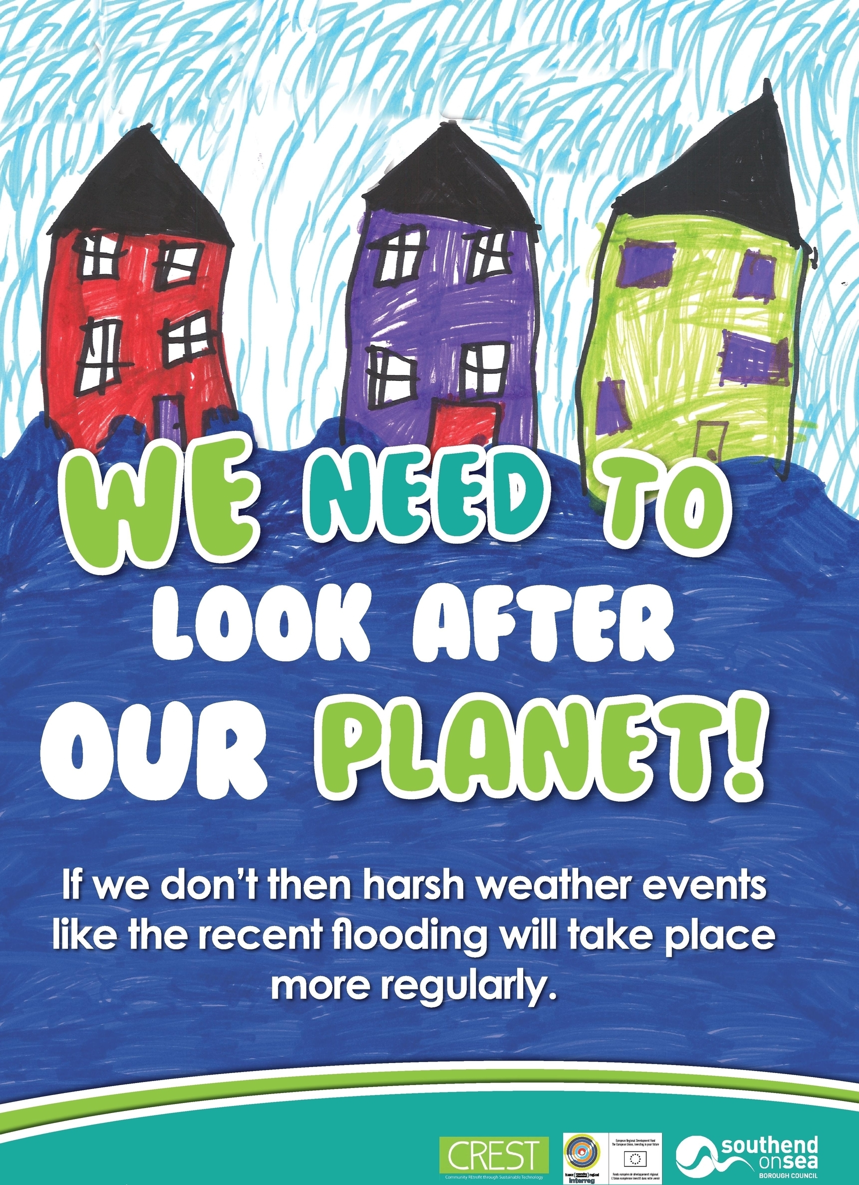 Poster design environmental issues - Cropped Hamstell Infant And Nursery Poster